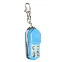 4 Taste Elektrische Garage Gatter Tür Fernbedienung Schlüsselanhänger 433MHz Cloning Blau