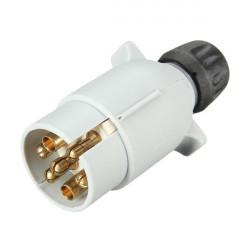 7 Pin 12S Car Trailer Caravan Gray Electric Plug Socket Towing