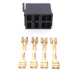 8 St Hona Spade Terminals & Rocker Switch ARB Plug Socket Carling