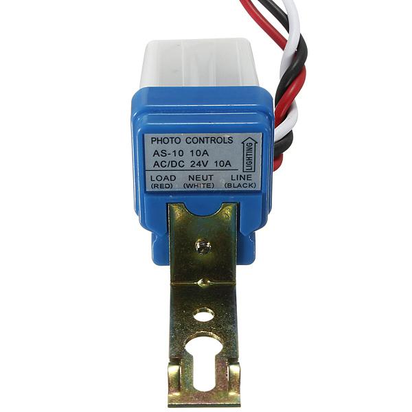 AC DC 24V10A Fotocelle Street Lys Photoswitch Sensor Switch Bildele