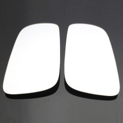 A Pair of White Side Mirror Glass for VW Jetta Golf 1999-2004