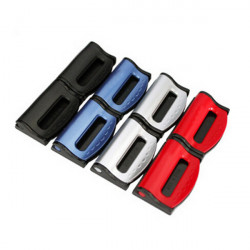 A pair of Car Safety Belt Fitted Clip Seat Belt Elastic Adjust Device