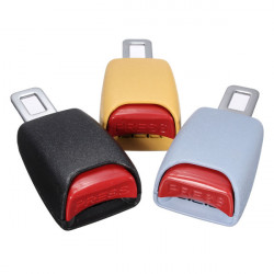 Car Auto Vehicle Seat Belt Insert Extender Safe Buckle Clip Stopper