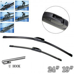 Car Windshield Wiper Blades For VAUXHALL Vectra C MK3 2002-2008