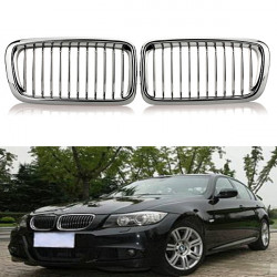 Chrome Car Kidney Grills Grilles for BMW E38 740/750 98 99 2000 2001