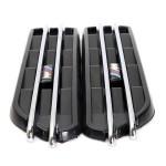 Dekorativa Air Flow Fender Sid Vents Hole Grill för BMW E90 E91 Bildelar