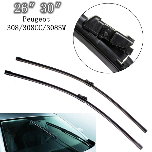 Front Windscreen Wiper Blades For Peugeot 308/308CC/308SW 07-13 Auto Parts