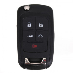 Keyless Remote Entry Switch Blade Starter Transmitter Fob For Chevy