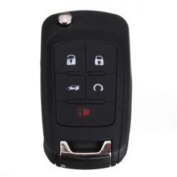 Nyckelskal Entry Switch Blad Starter Sändare Fob för Chevy