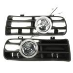 LED Lampe Tågelygter Bumper Grille Angel Eyes for VW Golf 98-04 Bildele