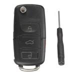 Fernschlag Schlüsselanhänger Shell Hülle für VW Golf Passta Beetle Jetta GL Auto Teile