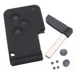 Remote Smart Nyckel Skal Fodral Battery Switch Blad för Renault Bildelar