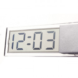 Suction Cup Car Dashboard Windscreen Digital LCD Display Mini Clock
