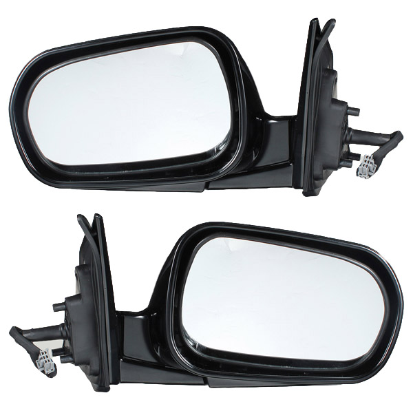 Transporter Manual Black Door Wing Mirror for 90-03 VW T4 Auto Parts