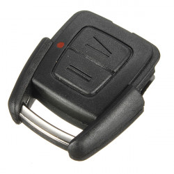 Two Buttons Remote Key Shell Case for Vauxhall Opel Astra Black