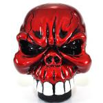 Universal Bil Krom Skull Gear Stick Växelspaksknopp Spak