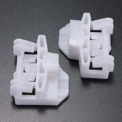Window Regulator Clips Front Right Passenger Side for Audi A4 96-01