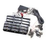 12V 30W 54LED Flash Car Emergency Warning Strobe Lamp Car Alarm & Security