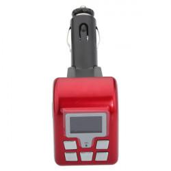 12V BT V2.0 MP3 Wireless FM Modulator BF-805 Red
