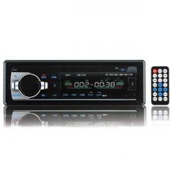12V Car in Dash BT Stereo Radio Head Unit 1 Din MP3 Player AUX FM