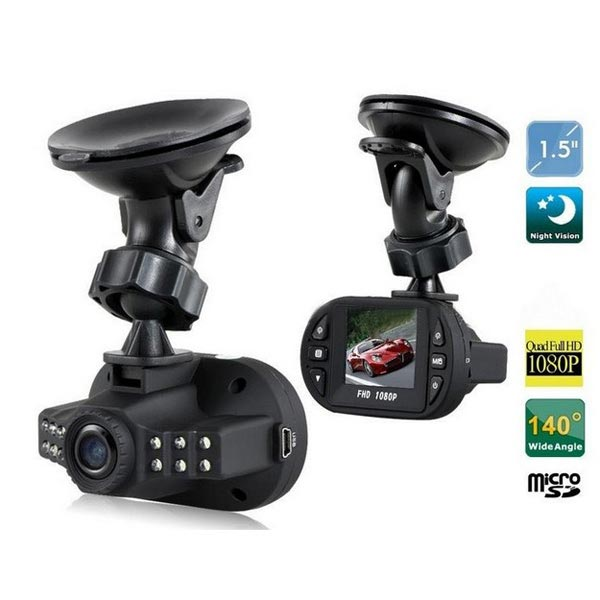 1.5 Inch HD DVR Dash Cam Camera IR LED Night Vision Recorder C600 Car DVRs
