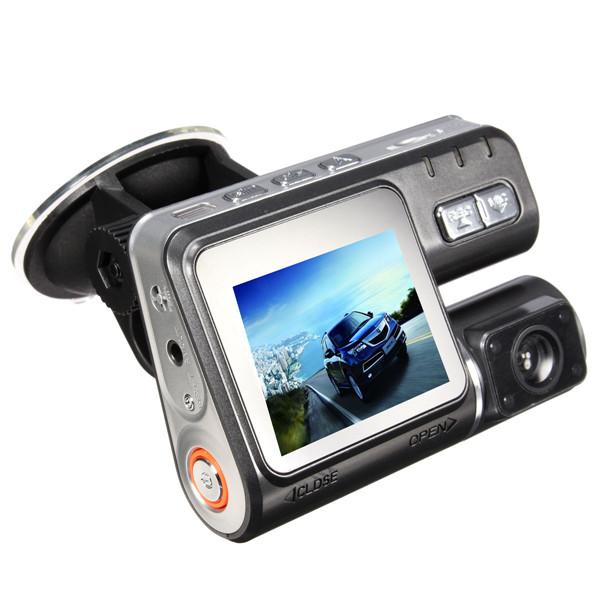 170° HD 720P TFT Bilkamera DVR Kamera Optager G-Sensor Nattesyn Bilkamera DVR