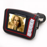 1.8 Inch LCD Colorful Car MP4 Player FM Transmitter with Memory Car Audio & Monitor