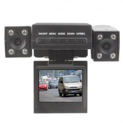 """2,0"""" Bil DVR Mörkerseende Videoinspelning med Dual Kamera"""