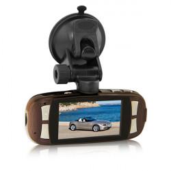 """2,7"""" LCD-skärm med Full HD 1080p Bil DVR Kamera Recorder T650"""