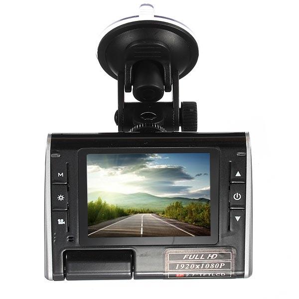 2.7 TFT HD DVR Auto Cam Video Dash Recorder Kamera K8000 Autokamera DVR