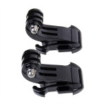 2x Vertical Surface J-Hook Buckle for SJ4000 Gopro Car DVRs