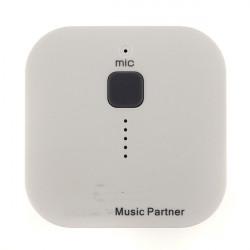 3.0 Bil Stereo Audio Receiver Håndfri Musik Partner for Mobiltelefon