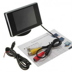 3.5 Inch Digital TFT LCD Screen Rear View Monitor Reverse Camera