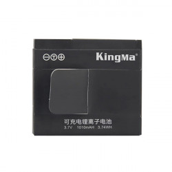 3.7V 1010mAH Li-ion Back-up Batteri for Xiaomi Yi Action Kamera