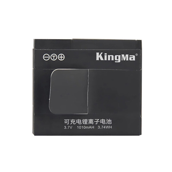 3.7V 1010mAH Li-ion Back-up Batteri for Xiaomi Yi Action Kamera Bilkamera DVR