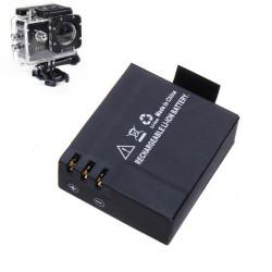 3.7V 900mAh Li-ion Batteri för Bil Sports Kamera DVR DV SJ4000 M10