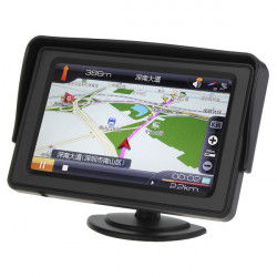 4.3 Inch LCD Car Rearview Monitor with LED Backlight for Camera DVD