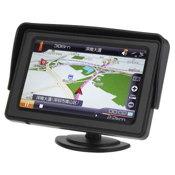 """4,3"""" LCD-Car Rearview-skärm med LED-bakgrundsbelysning för Kamera DVD Ljud & Bild"""