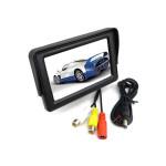 """4,3"""" TFT LCD Bil Bildskärm Färgskärm för CCTV Kamera Ljud & Bild"""