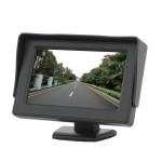 """4.3"""" TFT LCD Farve HD Shade Bil Ede Monitor til Kamera GPS Lyd & Billede"""