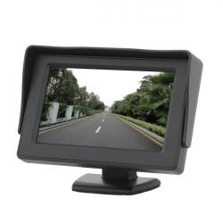 """4,3"""" TFT LCD-färg HD Shade Bil Rearview Monitor för Kamera GPS"""