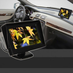 4.3inch LCD Car Rearview Monitor Screen Reverse Camera Kit DVD VCR