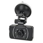 5,0 MP Vidvinkel Bil DVR Kamera med 6-LED och GPS Logger AT008 Bilkameror DVR