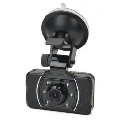 5,0 MP Vidvinkel Bil DVR Kamera med 6-LED och GPS Logger AT008