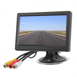 5 Inch Car Vehicle Security Ditigal TFT LCD Reverse Rear View Monitor