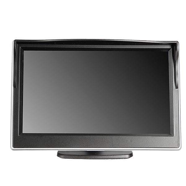 "5"" Digital Farve TFT LCD-skærm Monitor Bil Monitor Lyd & Billede"