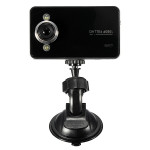 720P Mini Bil DVR Videokamera G-sensor Mörkerseende K6000 Bilkameror DVR