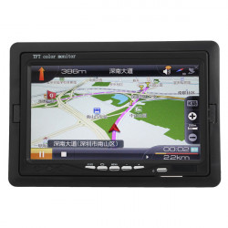 7 Zoll TFT Spiegel Auto Rückspiegel Monitor Backup LCD Bildschirm