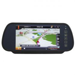 "7"" TFT Spegel LCD-skärm Bil Rearview Bildskärm Backup"