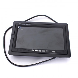7inch TFT LCD Screen Car Monitor For Reversing Rearview Camera